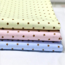 New Arrival 40*50cm 3pcs/set Cotton fabric tissu costura sewing Shoes hats fabrics Cloth Curtain patchwork fabrics Doll C8