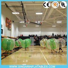 Free shipping 1.0mm PVC 1.5m diameter indoor bubble soccer,giant inflatable ball,bumper ball for adults(China)