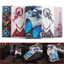 "Buy 5 Painted Styles Homtom HT17 Pro Case Original Wallet PU Leather Back Cover Case Homtom HT17 Pro Case 5.5"" Flip Prote for $4.85 in AliExpress store"