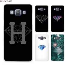 BINYEAE Purple nebula diamond supply co Clear Transparent Cell Phone Case Cover for Samsung Galaxy A3 A5 A7 A8 A9 2016 2017(China)