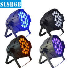4PCS/LOT 6in1 Led Par Can Light /Par 64 RGBWA UV 18x18W led stage  light 6IN1 12W LED PAR CAN LIGHT