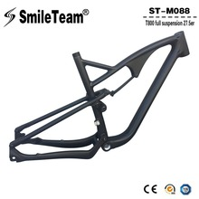 Buy Smileteam 27.5er Carbon Full Suspension Frame 650B Carbon MTB Mountain Bike Frame 142*12mm Thru Axle Carbon Bicycle Frame for $628.20 in AliExpress store