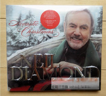 2017 Sale Top Fashion Soft Bag Free Shipping: Neil Diamond Acoustic Christmas Latest Song Cd Seal(China)