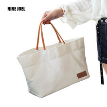 2017 New Woman Canvas Bags Women Shoulder Bag Female HandBags Crossbody Bag For Women White Tote Bags Casual Tote Canvas Bags