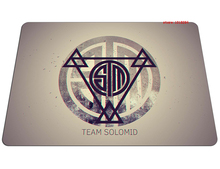 Team Solo Mid mouse pad Gorgeous large pad to mouse notbook computer mousepad Aestheticism gaming padmouse laptop gamer play mat(China)