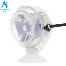 1W Indoor LED Underwater Lamp Waterproof LED Aquarium Light for Coral Reef Fish Tank Submersible Aquarium Light Spot Lamp(China)