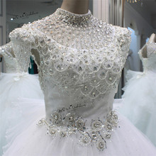 Buy Vestido de Noiva 2018 Luxury Princess Wedding Dress Rhinestones Sequin Wedding Gowns Ball Gown Bridal Dresses Bow Mariage Boda for $172.80 in AliExpress store