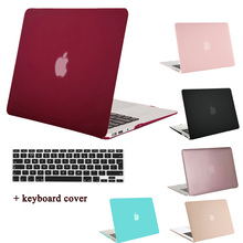 MOSISO Mac Pro 13 Case(A1425/A1502) Clear Matte Plastic Hard Case Shell for Macbook Air 13 13.3 inch Laptop Cover+Keyboard Film(China)