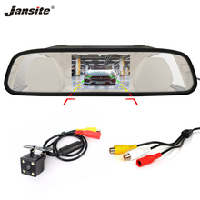"Jansite 4.3 ""TFT LCD Monitor Do Carro Câmeras Reversa Sistema de Estacionamento Da Câmera para Retrovisor Do Carro Monitores PAL NTSC Grande visão(China)"