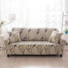 Cheap Universal Sofa cover Stretch Elastic Loveseat Sofa Furniture Cover Living Room single/double/three/four-Seat Slipcover(China)