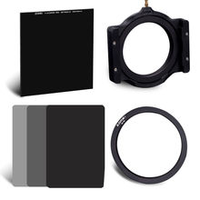 ZOMEI Neutral Density Glass ND1000 + ND2 ND4 ND8 Cokin Square filter Kit + holder + 82Ring for Cokin Z-PRO Seri DSLR Camera lens(China)
