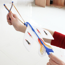 1 X Shining Flash Plane Arrow Helicopter Led Light Kids Flying Toys Color Random Christmas Gift
