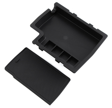 Car Armrest Organizer Tray Storage Container Box For Subaru XV 2012-2015