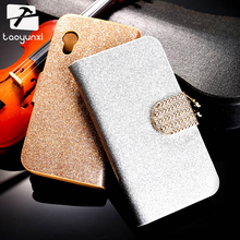 TAOYUNXI PU Leather Flip Case Bling Diamond Phone Case Cover For Samsung Galaxy Ace S5830 S5830I GT-S5830i 5830 Wallet Case(China)