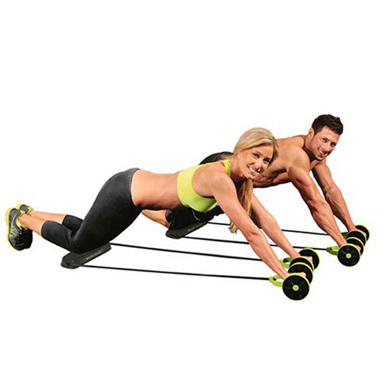 Aliexpress Com Green Abdominal Exerciser Ab Roller Core Double Waist Trainer Wheel Fitness Workout Home Gym And Exercise Equipment From Reliable