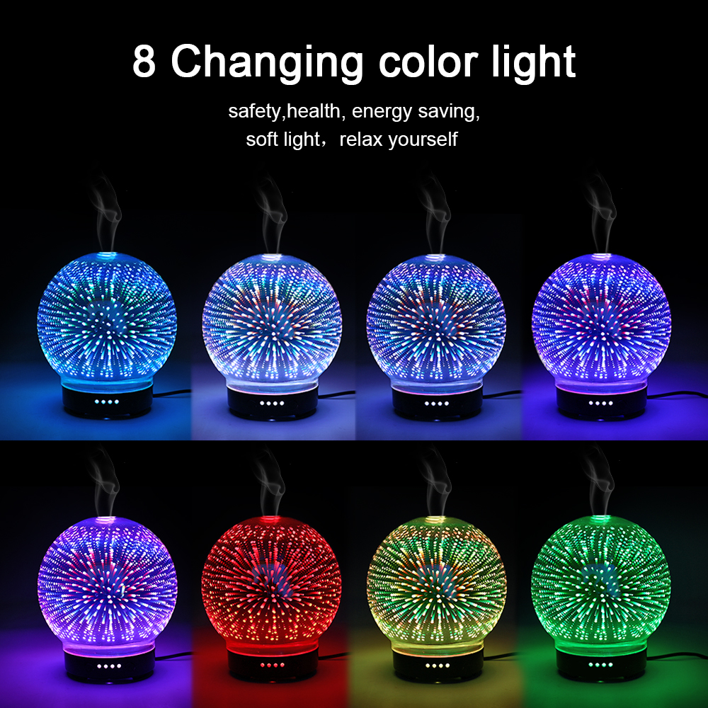 3D Colorful Aromatic Night Light 1