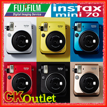 Fujifilm Instax Mini 70 + Free Gift for Polaroid Instant Photo Camera Instax Mini Film in 6 Colors(China)