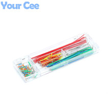 140 pcs U Shape Shield Solderless Breadboard Jumper Cable Wire Kit for Arduino DIY