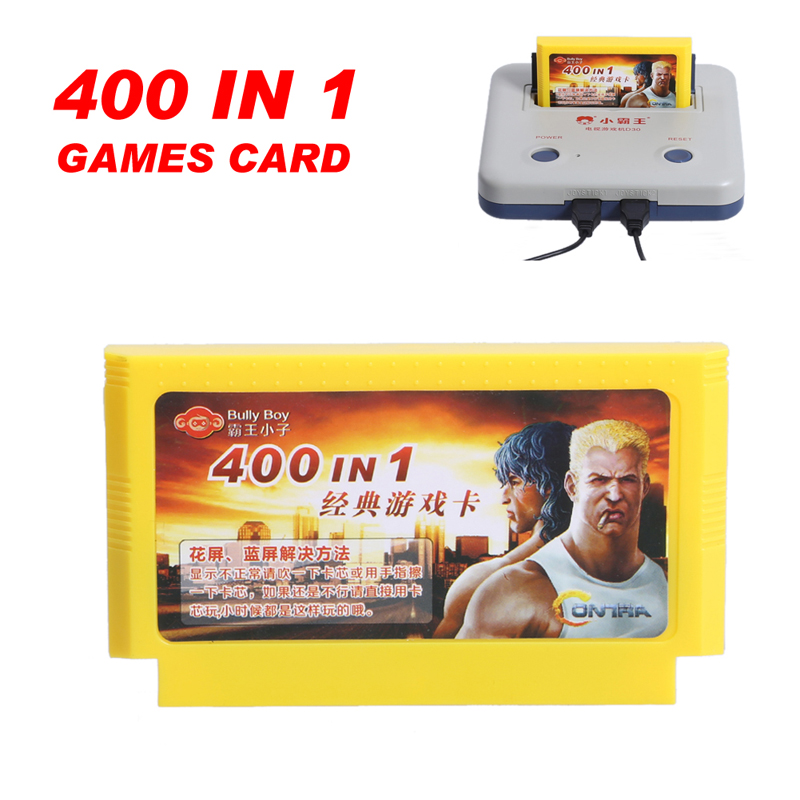 400 in 1 Games Card 8 Bit Classic Video Game Memory Card for Kid Children Gift for Subor FC TV Video Game Console(China (Mainland))