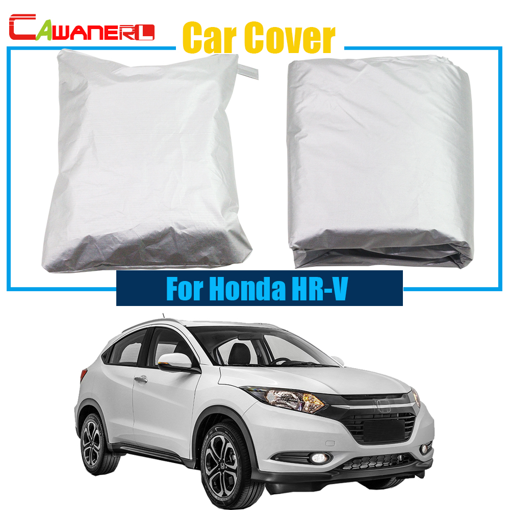 Cawanerl Protection-Cover HR-V Full-Car-Cover Honda Dustproof Auto UV for Sun-Snow Rain-Resistant title=