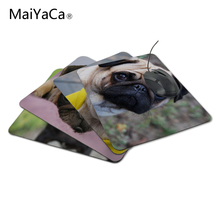 MaiYaCa Vivid Hot Pug Dog New Design Silon Anti-slip Mousepad Computer Mouse Pad For Optal Me Trackball Mouse(China)