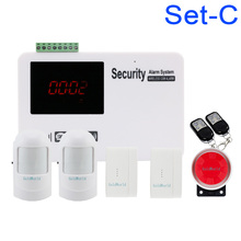 New Voice LCD Security Wireless 99 Zone GSM House Home Guard Alarm Systems(China)