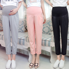 2017 Women Maternity Clothing Spring Autumn Cotton Legging Maternity Pants Maternity Leggings Pregnant Clothes Pants