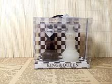 Fast Delivery Factory Direct Sale Wedding Favor-king & Queen Chess Piece Candle Favors Wholesale(China)