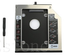 1 Pc SATA 2nd HDD Hard Drive Caddy Bay For IBM Thinkpad T400s T500 T410 W500
