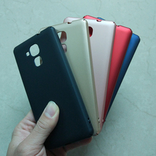 Case For Huawei Honor 5C 5.2 inch 5 Color Hard Plastic Colorful Phone Cases Cover for Huawei Honor 5C