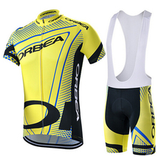 Men's Sports Cycling Jersey Bike Short Sleeve Cycling Clothing Summer Style Bicycle Team Bike Jersey Pro Short Jersey(China)