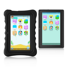 Yuntab New black Q88H Kids Tablet PC load Iwawa kid software 3D-Game bluetooth Educational Game Apps with Chic stand Case