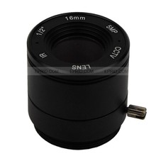 "5MP 1/2"" 16mm F2.0 CS Mount CCTV Fixed IRIS Lens for HD IP Camera"