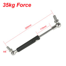 35KG/77lbs 110mm Stroke 300mm Hole Distance Gas Spring Ball Studs Lift Strut Damper for Furniture Car Gas Strut Door(China)