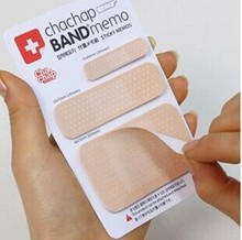 1pcs/lot Novelty Band Aid type sticky Memo pad Post it notes Stationery office supplies School supplies(China)