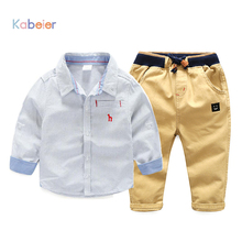 Kids Clothing Sets 2017 New Children Jeans Pants + Shirt for Boys Spring Fall 2-7 Years