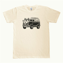 "T Shirt Hot Sale Clothes Vw ""Off-Road"" Micro Bus Graphic Printed On Men'S T-Shirt"