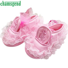 Hot Chamsgend Toddler Kid Baby Girl Embroidered Lace Soft Bottom Newborn Walking Shoes Levert Dropship Jan11