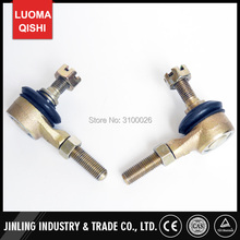 1 Pair M10-M10 Tie Rod End Kits Ball Joint Fit For China ATV 50cc 110cc 150cc 200cc 250cc 300cc Go Kart Karting Quads Bike Parts(China)