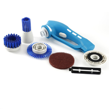 Household Cleaning Tool Electric Scrubber Kitchen Cleaning Cleaner Machine Oil Stain Cleaning Brush Handheld Brush Tool