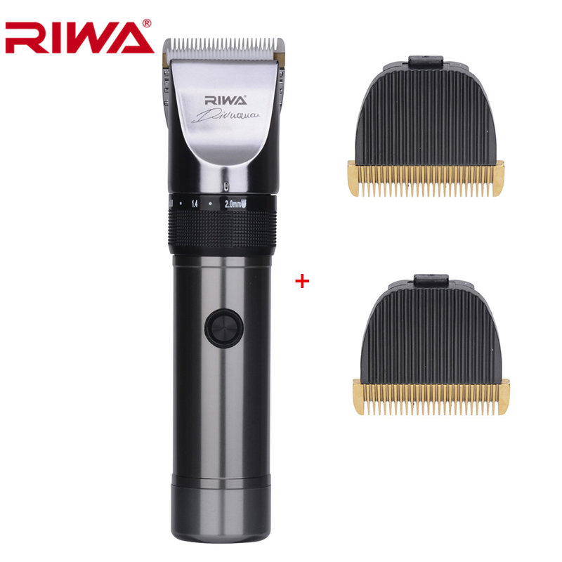 RIWA Professional Hair Trimmer X9 With Original Packaging Ceramic Blade Cutting Machine For Barber Lithium Battery Hair Cutter<br>