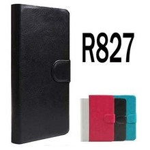 Original PU Leather Flip Cover Case For Oppo Find 5 Mini / R827 / R827t Cell Phones Holster +Touch Pen