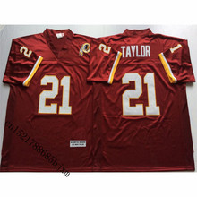 Mens Retro Sean Taylor Stitched Name&Number Throwback Football Jersey Size M-3XL(China)