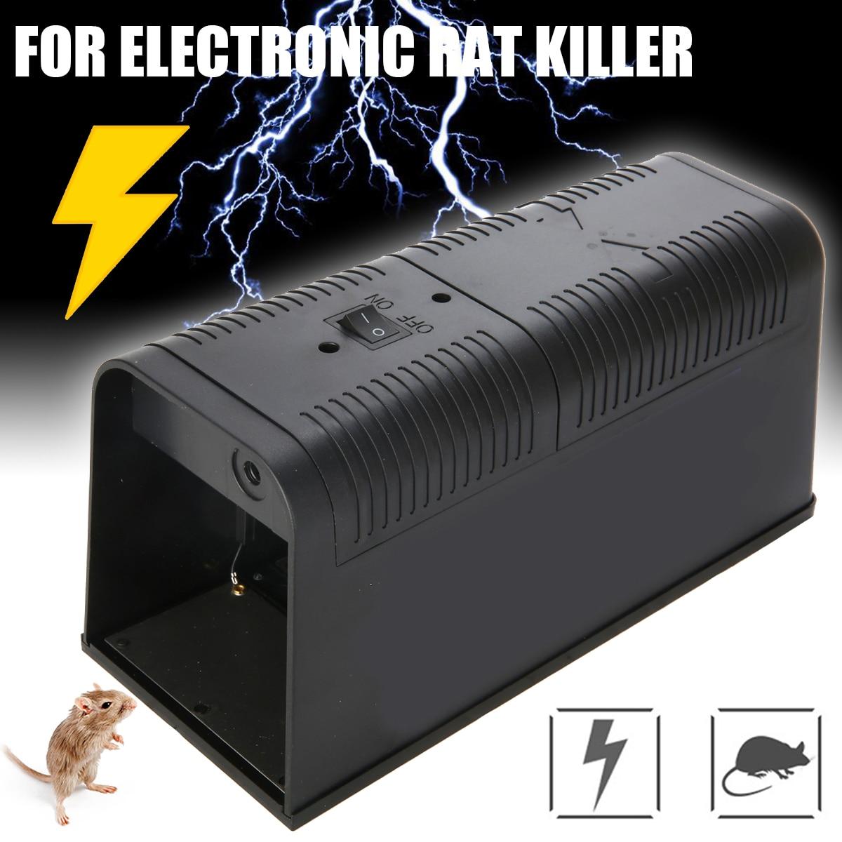 Electronic Mouse Trap Control Rat Killer Electric Pest Mice Traps Kitchen Home Pest Control