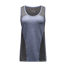 Wholesale Fitness Apparel Manufactures Women Yoga Compression Bodybuilding Vest Ladies Muscle Tank Tops for Girl Running(China)