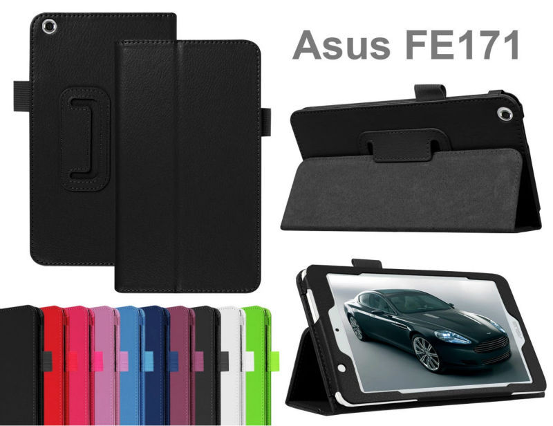 3 in 1 Pu Leather Case Flip Cover for Asus Fonepad 7 FE171CG FE171MG FE171 Tablet PC 7 + Screen Film + Stylus <br><br>Aliexpress