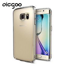 Oicgoo Transparent Case For Samsung Galaxy S6 Ultra Thin Clear Soft TPU Silicone Cover Cases For Galaxy S6 edge Case Coque