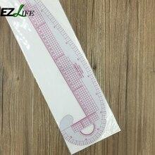 Пластик французский кривой метрики Вышивание линейки меру пошив одежды портной кривой классификации правило выкройки zh01498(China)