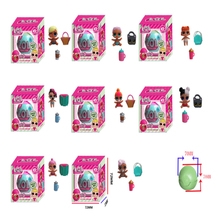lol Surprise Doll Magic Funny Removable Egg Ball Doll Toy Educational Novelty Kids Unpacking Surprise Dolls(China)