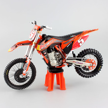 1/12 scale kids redbull No.5 Ryan Dungey SUPERMOTO CHAMP KTM SXF450 Motocross Motorcycle Diecast metal model race dirt bike toys(China)